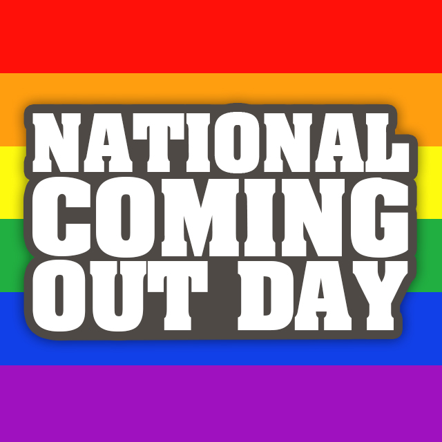 National Coming Out Day -All Male Blog
