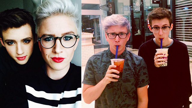 tyler oakley and troye sivan relationship advice